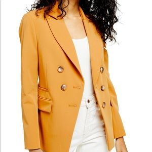 NWT Topshop Double Breasted Blazer